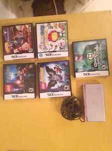 Selling Nintendo DS with 5 games all for $50.00