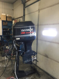 looking for Evinrude nameplate for my 200 Vindicator