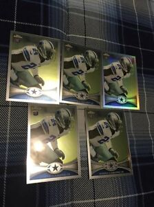 5 2012 Topps Chrome Morris Claiborne Football Rookie Cards #187 St. John's Newfoundland image 1