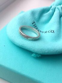Genuine Tiffany & Co. I Love You Ring size O