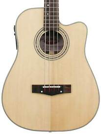 Stagg electro acoustic bass guitar