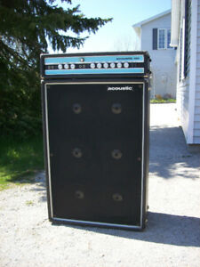 Acoustic 150 Amplifier and Speakers