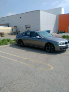2008 BMW 750i  $8500 or best offer