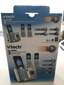 New VTech DS6521-3 Cell Answering System w/ Caller ID/Call Waiti