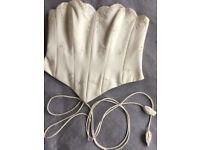 Beautiful wedding corset / bodice size 8-10
