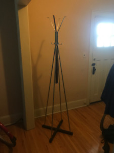 High Capacity Coat Rack - can hold dozens of items at a time