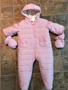 New With Tags Baby Snowsuit