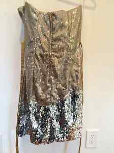Strapless Sequined Evening Gown - Size 6 Gatineau Ottawa / Gatineau Area image 2
