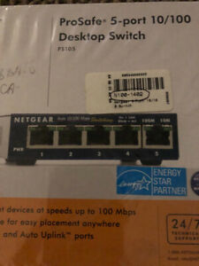 Netgear 5-Port 10/100 Switch