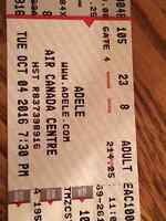 2 ADELE TICKETS