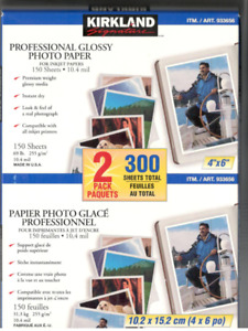 Over 2000 Sheets of 4x6 & 8.5x11 Glossy Photo Paper