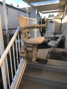 Electric stair lift chair