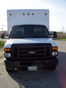 2008 Ford F-450 saftied cube truck