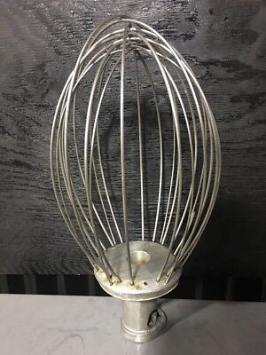 Hobart Commercial Restaurant Mixer 40qt Whisk Mixing Attachment Model Vmlh 40d
