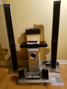 DVD Home Theatre System and bonus Sony Blue Ray Player