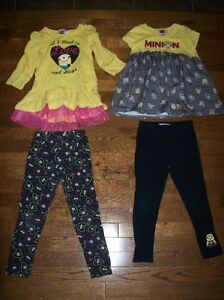 Minion Sets, Girls 6/6X