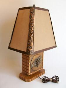 Lampe Repoussé en Cuivre d'Albert Gilles - Années 50