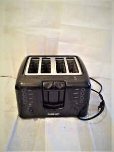 Toaster. With 4 slots. Brand: CUISINART.