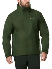 Berghaus RG alpha 3 in 1 mens jacket, dark green size small