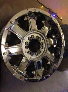 Unilung 18inch 6 and 5 lug truck or sub rims