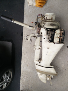 Mc mullough 7.5hp outboard motor with electric start