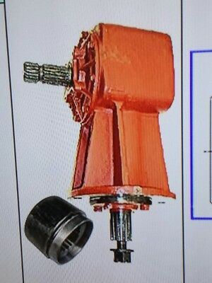 Universal Rotary Cutter 100hp Gearbox 11.46 Ratio