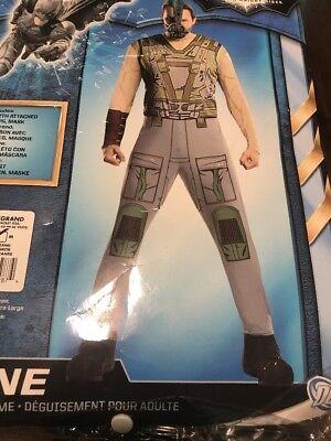 Batman-bane Kostüm (Batman Bane Costume Adult Large Fits 42-44 Jacket Size)