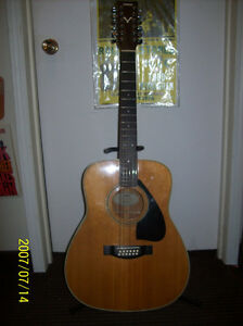 Yamaha 12 String Acoustic