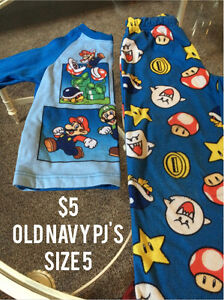 Kids clothing size 12 months to 5 Strathcona County Edmonton Area image 1