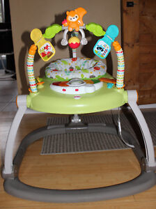 fisher price woodlands space-saver jumperoo
