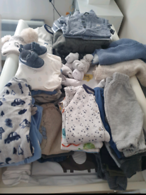 2 large bags baby boy clothes