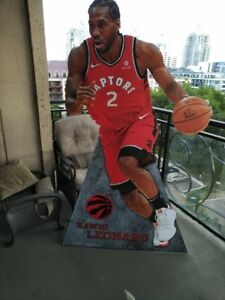 Raptors Signed Min Basketball Bonner Christie+  Kawhi Bobblehead