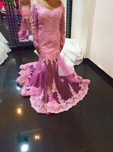 Custom made Pink Dress