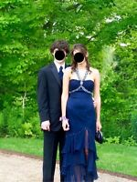 Deep blue Alyce Designs prom/grad ball dress - 150$