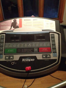 Tempo treadmill, barely used
