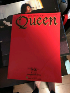 """The Best of Queen"" sheet music anthology"