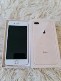 Iphone 8 plus Rose Gold Unlocked