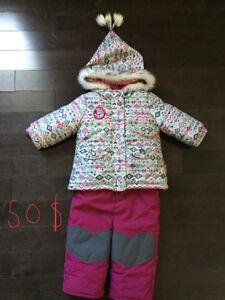 Habit de neige pour fille souris mini et nano