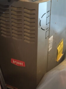 Bryant Furnace and Bradley-White Hot Water Tank For Sale