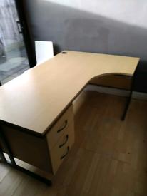 Managers Corner Desk
