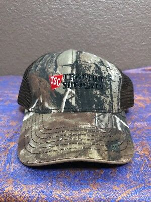 Tractor Supply Co  Mens Camo Camouflage Mesh Baseball Cap Hat