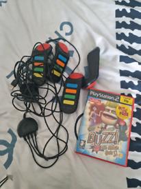 PlayStation 2 buzz stuff