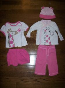 Old Navy Sets, Girls 3-6 & 6-12 months