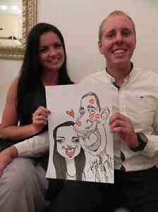 the wedding caricature art and portrait art  West Island Greater Montréal image 7
