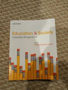 Education and Society by Wolfgang Lehmann