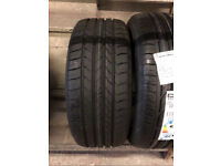 Brand new 225-45-18 Goodyear EfficientGrip Runflat