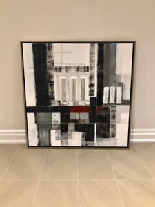 Hand Painted Abstract Art