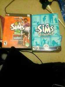 Sims PC games
