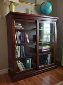 BOOK CASE - GLASS DOORS