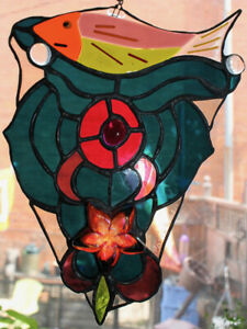 Nautical-Themed  Stained Glass Fish & Star from Local Artists!